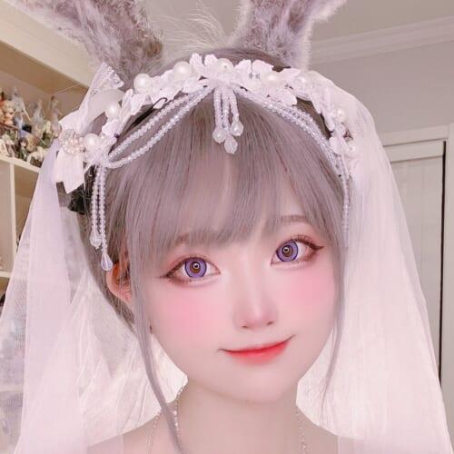 (日本語) 【祝! 40万フォロワー突破】 人気コスプレイヤー『SeeU』がファンに感謝し、可愛らしいドレス姿を披露